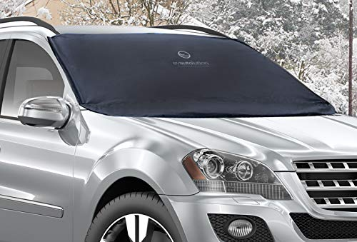 Evautolution Premium Windshield Snow Cover - Car Snow Cover Guards Your Windshield & Wipers...