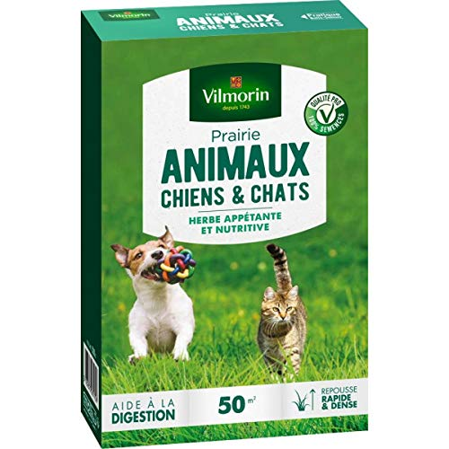 Multitanks – Grass Meadow Dogs and Cats 500 g Vilmorin