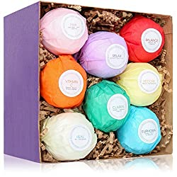 relaxing bathroom retreat bath bombs