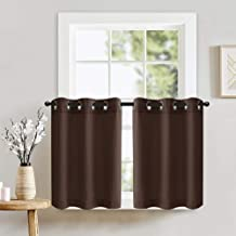 Best brown cafe curtains Reviews
