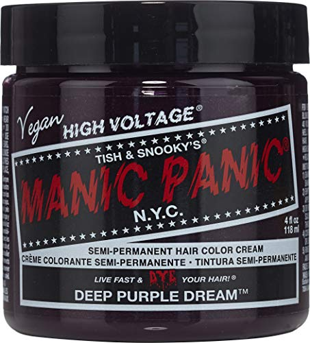 Manic Panic Classic Semi-Permanent Hair Dye 118 ml (Deep Purple Dream) by by Manic Panic Manic Panic