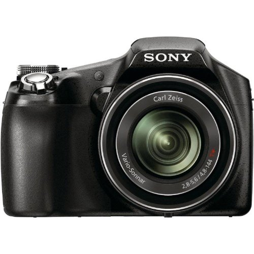 Sony HX100V Digitalkamera (16 Megapixel, 30-fach opt. Zoom, 7,75 cm (3 Zoll) Display, 27-mm-Weitwinkel, Full HD) schwarz