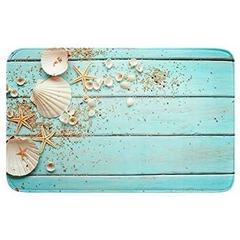 Best sea shell bathroom rug Reviews