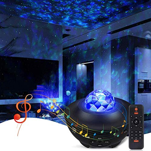 Star Projector Galaxy Projector, Galaxy 360 Pro Projector Galaxy Light Projector with Bluetooth Speaker, Galaxy Globe Projector for Kids Adults Bedroom Decoration Best Christmas Birthday Gifts