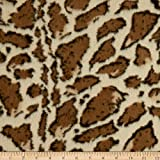 Newcastle Fabrics 0680661 Giraffe Faux Fur Fabric Stoff,