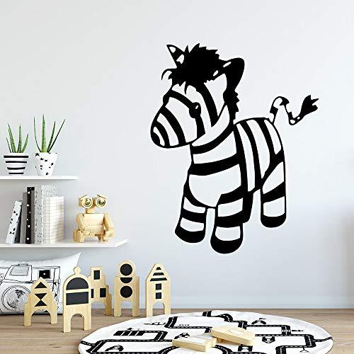 hetingyue New Zebra wasserdichte wandaufkleber Dekoration kinderzimmer wandkunst Wohnzimmer Wohnzimmer Dekoration wanddekoration 42x52 cm