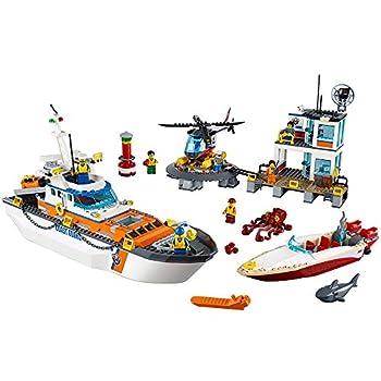 LEGO City Coast Guard Head Quarters 60167 Building Kit  792 Piece