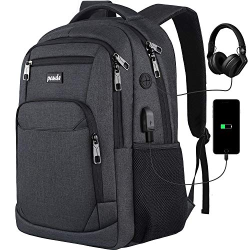 Backpack for Men and Women,School Backpack for Teens,15.6 inch Laptop Backpack with USB Charging Port for Business College Travel
