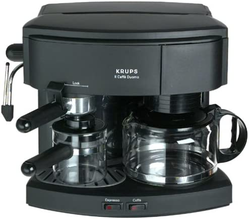 Krups 985-42 Il Caffe Max 60% OFF Duomo Coffee and Espresso National products Black Machine
