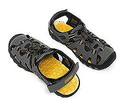 professional Kombu Kids Athletic Boys Gray Active Sandals (13)