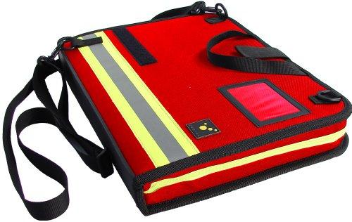 tee-uu BIG Einsatz-Organizer DIN A4 Hochformat (rot)