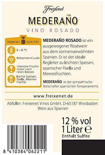 Mederaño Rosado Wein (6 x 1l) l Cuvée l halbtrocken l fruchtig leicht l für gemütliche Abende mit Freunden - 2