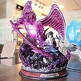 AMrjzr Naruto Uchiha Susano Sasuke Kakashiko Shining Statue Modelo Figura en Caja-Altura: 32cm...