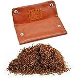Gurxi Compartimento de Piel de Tabaco Bolsa de Cuero Genuino Tabaco...