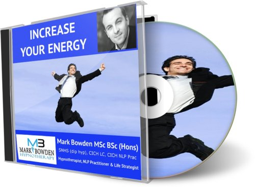 Increase Your Energy Hypnosis CD - Stop feeling lethargic and missing out on all the wonderful things that life has to offer. This recording will naturally give your brain energetic inducing thoughts that will make you feel more alive and ready to take on the world... and with a smile on your face as you do it!