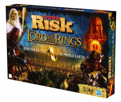 Risk–Der Herr der Ringe, Brettspiel (spanische Version) Englische Version Standard Standard