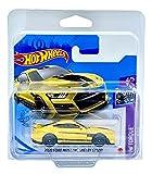 Hot Wheels 2020 Ford Mustang Shelby GT500 (amarillo) 4/5 HW Torque 2021 - 143/250 (tarjeta corta) Gry02 *** Viene en una funda protectora para coleccionistas de coches KLAS ***