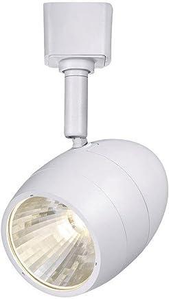 ハンプトンベイ2.56?in。1-lightホワイト調光機能付きLEDトラック照明ヘッド
