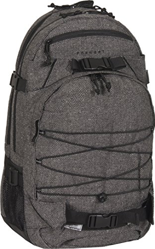 FORVERT Unisex Bag New Laptop Louis sportlich-lässiger Laptoprucksack mit durchdachter Ausstattung und Boardcatcher im spannendem Materialmix, grau (Flannel Grey)