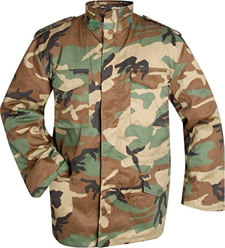 US army camouflage veste à doublure Woodland XXL