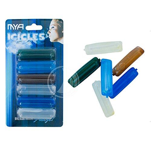 ShiSha Ice Pads von MYA - 6 er Pack - für Wasserpfeifen Schlauch - Icicles