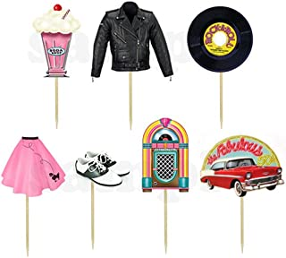 Best grease movie cake toppers Reviews