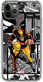 Skinit Clear Phone Case for iPhone 11 Pro Max - Officially Licensed Marvel/Disney Wolverine Comic Strip Design