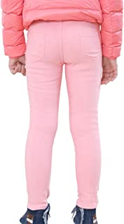Niña Leggings Cintura Alta Pantalones De Lápiz Plus Espesamiento Elástica Jeggings Leggins