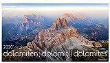 Luftbildkalender - airphoto Dolomiten. Wandkalender 2020. Monatskalendarium. Spiralbindung. Format 70 x 40 cm - Athesia-Tappeiner Verlag