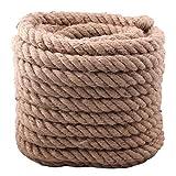 Cuerda Bigtreestock de 4 cabos superfuerte para el juego de la soga, el jardín,...