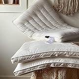 DNGDD 100% Tela de algodón Anti y Anti-alergia, Almohada Suave de Calidad de Hotel para el...