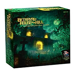 Tile by tile, terror by terror, build your own haunted mansion - and then try to escape it alive. With 50 blood-curdling scenarios, each trip to the house on the hill promises fresh horrors. Players must work together to survive the nightmare. Except...