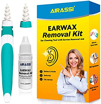 Airassi Silicone Spiral Heads Earwax Cleaning Tool