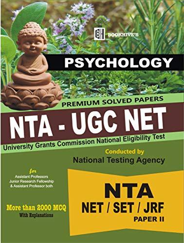 UGC NTA NET PSYCHOLOGY SOLVED 2020