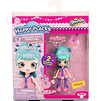 Shopkins Happy Places Doll Single Pack - Viol | Shopkin.Toys - Image 1