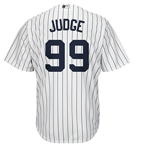 Aaron Judge New York Yankees Majestic Home Replica Cool Base Player Jersey (XX-Large)