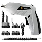 Cordless Screwdriver 3.5NM Rechargeable Lithium Battery Hand Electric Screwdriver Sets with LED Light