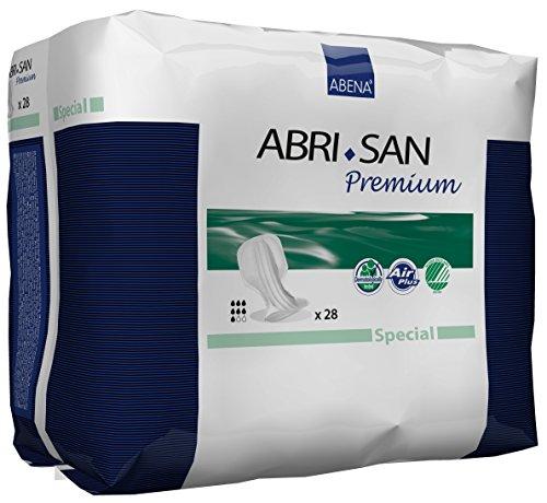 Abena Abri-San Special Air Plus Einlagen für Stuhlinkontinenz, speziell geformt, 2000ml