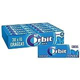 Orbit Chicles Sin Azúcar Sabor, Fresco, Intenso Y De Larga Duración En Formato Gragea ( Paquetes X 10 Chicles), Menta, 30 Unidades