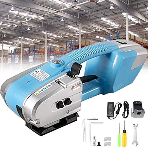 HPDOM Elektryczna spawarka taśmowa 13 – 16 mm maszyna do pakowania taśm, bateria automatyczna maszyna do pakowania taśm, do PP/PET