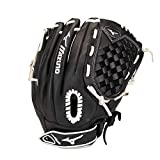 Mizuno GPSL1200F3 Prospect Select Fastpitch Softball Glove 12', Right Hand Throw, BLACK