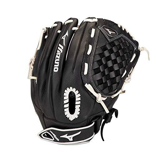 "Mizuno GPSL1200F3 Prospect Select Fastpitch Softball Glove 12"", Left Hand Throw, BLACK"