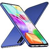 Galaxy A41 ケース【LASTE】Galaxy A41 SC-41A / SCV48 対応 ケース 軽量 スリム 耐久性 薄型 PC 指紋防止 耐衝撃カ Galaxy A41 レンズ保護 スマートフォンケース (ネイビーブルー)