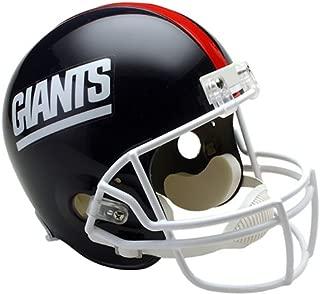 New York NY Giants 1981-1999 Throwback Riddell Full Size Deluxe Replica Football Helmet - New in Riddell Box