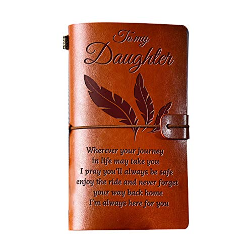 YOUNGE Vintage Engraved Journals Retro PU Leather Notebook Diary Notepad Note Book Stationery Gift Traveler Journals