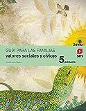 Valores sociales y cívicos. 5 Primaria. Savia - 9788467570663