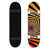 Tricks Psychedellic 8.0'x31.85' Complete Skateboard, Adultos Unisex, Multicolor (Multicolor), 8.0'