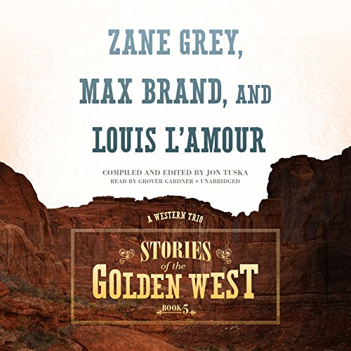 Stories of the Golden West audiobook cover art