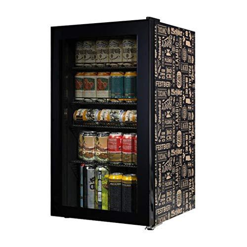 Articles for daily use Mini Refrigerador 88 litros, Mini Refrigerador de Escritorio Refrigeración Negro, Enfriador de Vino de Cerveza
