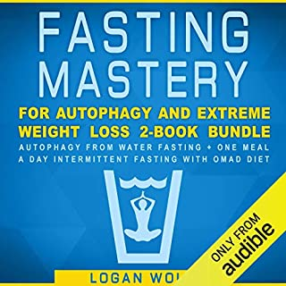 Fasting Mastery for Autophagy and Extreme Weight Loss 2-Book Bundle audiobook cover art